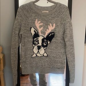 Abercrombie & Fitch Holiday Dog Sweater size L